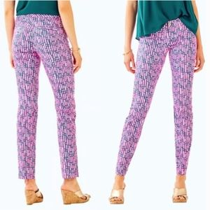 NWT Lilly Pulitzer Kelly Skinny Ankle Pant Stripe